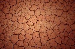 sprucken jordning för lera Royaltyfria Foton