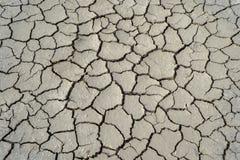 sprucken jordning för lera Royaltyfri Bild