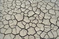 sprucken jordning för lera Arkivbild