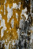 Sprucken konkret tappningväggbakgrund, gammal vägg arkivfoton