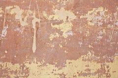 Sprucken konkret tappningväggbakgrund, gammal vägg Royaltyfri Fotografi