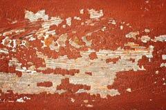 sprucken målarfärg Arkivbild
