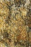 Sprucken mineralisk yttersida Royaltyfria Bilder