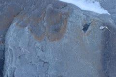 Sprucken och sliten för abstrakt begrepptextur för blå sten bakgrund Royaltyfri Foto