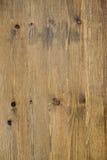 Sprucken riden ut brunt målad träbrädetextur Royaltyfri Bild