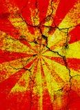 sprucken starburst för bakgrund Royaltyfri Foto