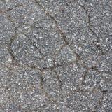 sprucken trottoar Royaltyfria Bilder