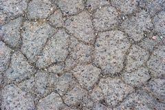 sprucken trottoar Royaltyfri Fotografi