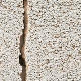 Sprucket cementväggfragment Arkivbild