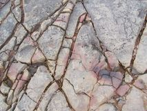 spruckna rocks Royaltyfri Bild