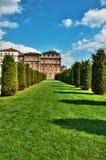 Spruit HDR van koninklijke plaats Venaria Royalty-vrije Stock Fotografie
