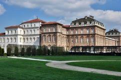 Spruit HDR van koninklijke plaats Venaria Stock Foto