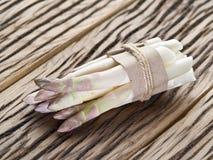 Spruiten van witte asperge royalty-vrije stock foto