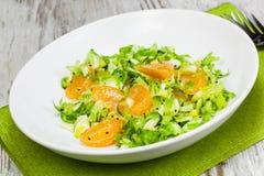 Spruitjes en Mandarijnsalade Royalty-vrije Stock Afbeelding