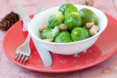 Spruitjes voor Kerstmis stock afbeeldingen
