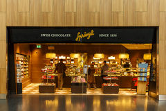 Sprungli Chocolate Store royalty free stock images