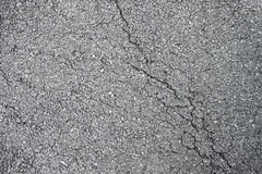 SprungsAsphaltstraße-Beschaffenheitshintergrundnahaufnahme Stockfotos