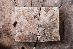 Sprungsmuster auf Holz Lizenzfreies Stockbild