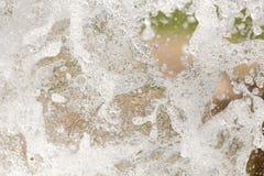 Spruzza dell'acqua in natura Immagine Stock