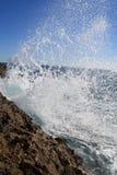Spruzza di Mar Nero Fotografia Stock Libera da Diritti