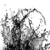 Spruzza il materiale dell'inchiostro Fotografia Stock Libera da Diritti