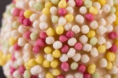 Spruzza su Cakepop Fotografia Stock Libera da Diritti