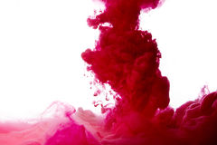 Spruzzata astratta della vernice Immagini Stock