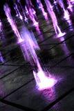 Spruzzata colorata dell'acqua immagini stock libere da diritti