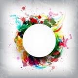 Spruzzata dei colori Fotografie Stock