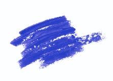 Spruzzata dei colpi della pittura isolati Immagini Stock Libere da Diritti