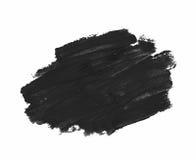 Spruzzata dei colpi della pittura isolati Immagine Stock Libera da Diritti
