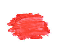 Spruzzata dei colpi della pittura isolati Fotografia Stock Libera da Diritti