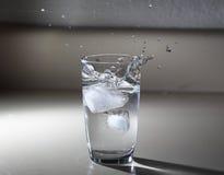 Spruzzata del ghiaccio Fotografie Stock