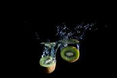 Spruzzata del Kiwi Fotografie Stock Libere da Diritti