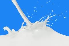 Spruzzata del latte fotografia stock libera da diritti