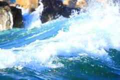 Spruzzata del mare Fotografia Stock Libera da Diritti