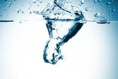 Spruzzata dell'acqua Fotografie Stock