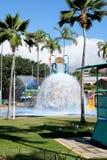 Spruzzata dell'acqua di Townsville Fotografia Stock Libera da Diritti
