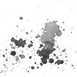 Spruzzata dell'acquerello Immagini Stock