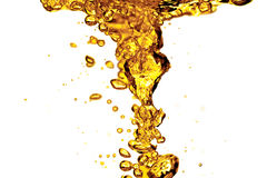 Spruzzata dell'olio illustrazione vettoriale