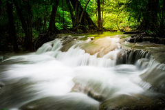 Spruzzata della cascata Fotografia Stock