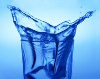Spruzzata di acqua Fotografia Stock