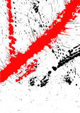 Spruzzata di anima di Grunge Fotografie Stock Libere da Diritti