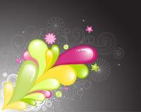 Spruzzata di colore Royalty Illustrazione gratis