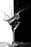 Spruzzata di Martini Immagine Stock