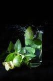 Spruzzata di Mojito Fotografie Stock