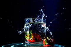 Spruzzata di Splashity fotografia stock libera da diritti