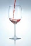 Spruzzata di vino rosso Immagine Stock Libera da Diritti