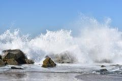 Spruzzata di Wave Immagini Stock