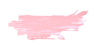 Spruzzata macchiata di pittura isolata fotografia stock